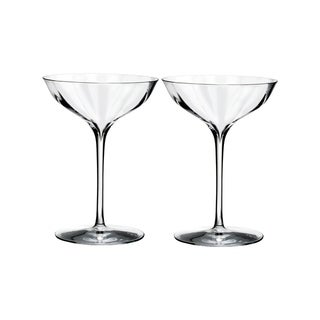 Elegance Optic Clear Belle Coupe (Set of 2)