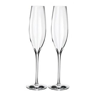Elegance Optic Clear Classic Champagne Flute (Set of 2)
