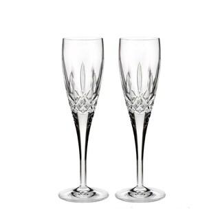 Lismore Nouveau Clear 7oz. Champagne Flute (Set of 2)
