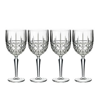 Link to Brady Clear 12oz. Wine (Set of 4) Similar Items in Glasses & Barware