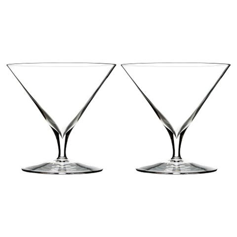Elegance Clear 11.2oz. Martini Glasses (Set of 2)
