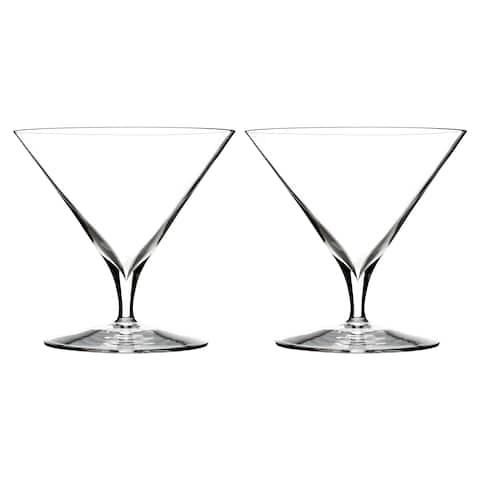 Elegance Clear 11.2oz. Martini Glasses (Set of 2)