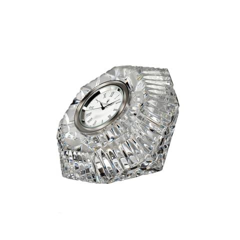Lismore Diamond Clear Clock