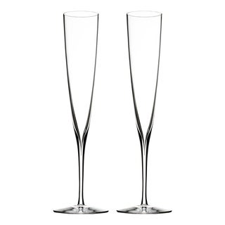 Elegance Clear 5.7oz. Champagne Trumpet Flute (Set of 2)