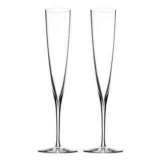 Elegance Clear 5.7oz. Champagne Trumpet Flute (Set of 2)