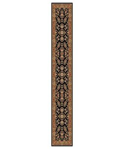 Safavieh Lyndhurst Traditional Oriental Black/ Tan Runner (2'3 x 12')