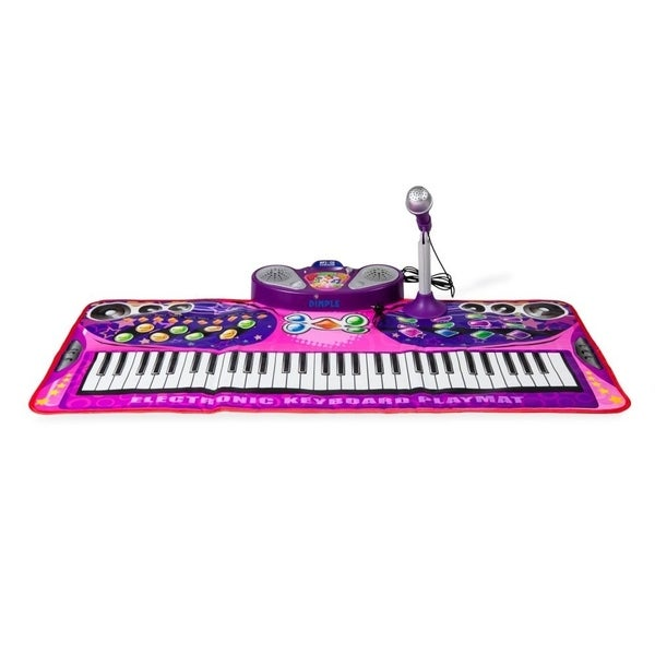 Dimple DC12652 Piano Lightweight portable Playmat for Kids Touch Sensitive Musical Instrument Toy 16 Instrument Sounds