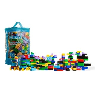 Dimple DC13989 300 Pieces Small Building Block Set For Kids Fun For Ages 3 and above