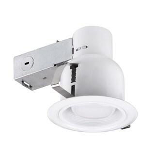 4 in. White Indoor/Outdoor Recessed Lighting Kit