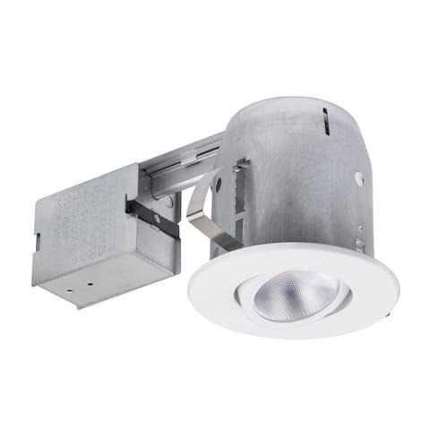 """5"""" White LED Swivel Recessed Lighting Kit"""
