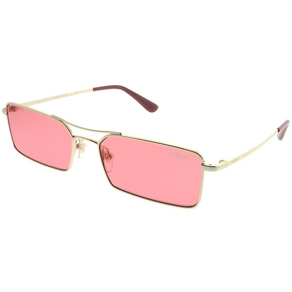 f2d346326d7 Vogue Eyewear Rectangle VO 4106S Vogue By Gigi Hadid 848 F5 Women Pale Gold  Frame