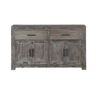 Farmington Two-door One-drawer Rub-finished Acacia Wood Credenza