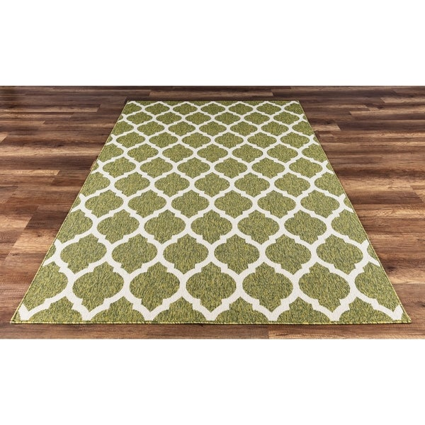 Shop Gad Anne High Quality Indoor Outdoor Area Rug With Trellis