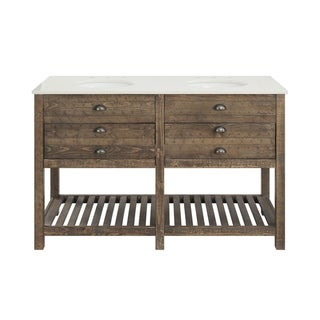 Two Drawer Double Vanity with Sink
