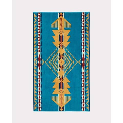 Pendleton Eagle Gift Turquoise Oversized Spa Towel