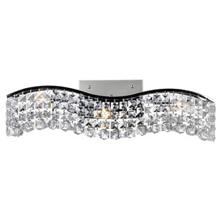 Link to 3 Light Wall Sconce with Chrome Finish Similar Items in Sconces