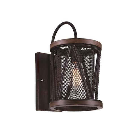 Carbon Loft Loewenstein 1-light Wall Sconce with Pewter Finish