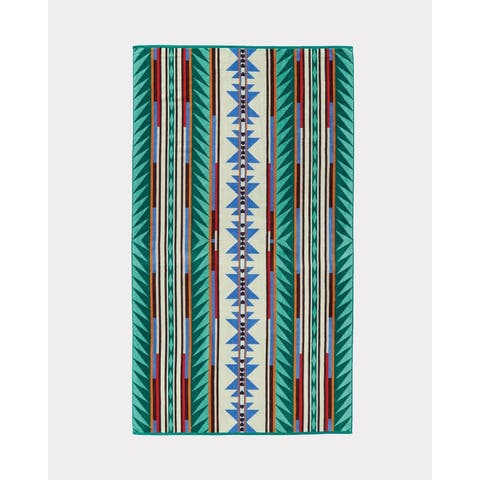 Pendleton Turquoise Ridge Oversized Spa Towel