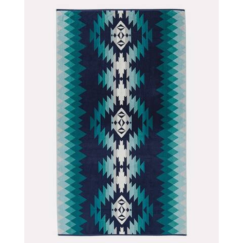 Pendleton Papago Park Turquoise Oversized Spa Towel