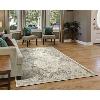 "Westfield Home Cottonwood Topeka Grey Area Rug - 7'10"" x 10'6"""