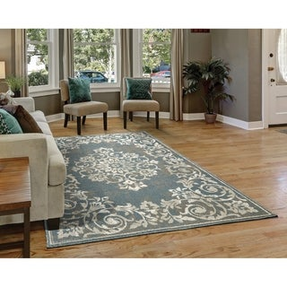 Westfield Home Cottonwood Oriel Charcoal Runner Rug - 1'11 x 7'6