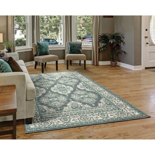 Westfield Home Cottonwood Exus Grey Runner Rug - 1'11 x 7'6