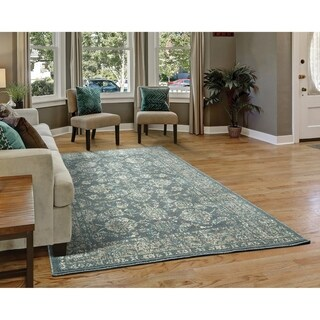 Westfield Home Cottonwood Besta Fera Charcoal Runner Rug - 1'11 x 7'6
