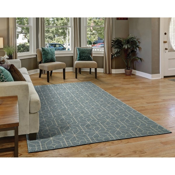 Westfield Home Cottonwood Althea Charcoal Runner Rug - 1'11 x 7'6