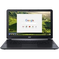 "Acer Chromebook 15.6"" Intel Dual-core 1.6 ghz 4 GB Ram 16 GB Flash Chrome OS Factory Recertified"