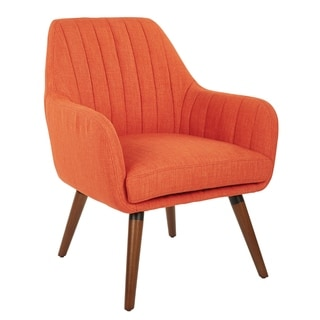Link to Carson Carrington Balestrand Mid-century Matte Fabric Chair Similar Items in Accent Chairs