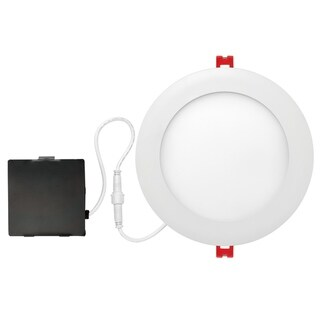 Link to 6 in. White Ultra Slim Integrated LED Recessed Lighting Kit Similar Items in Recessed Lights