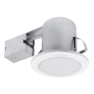 "Link to 5"" White Damp Rated Shower Recessed Lighting Kit Similar Items in Recessed Lights"