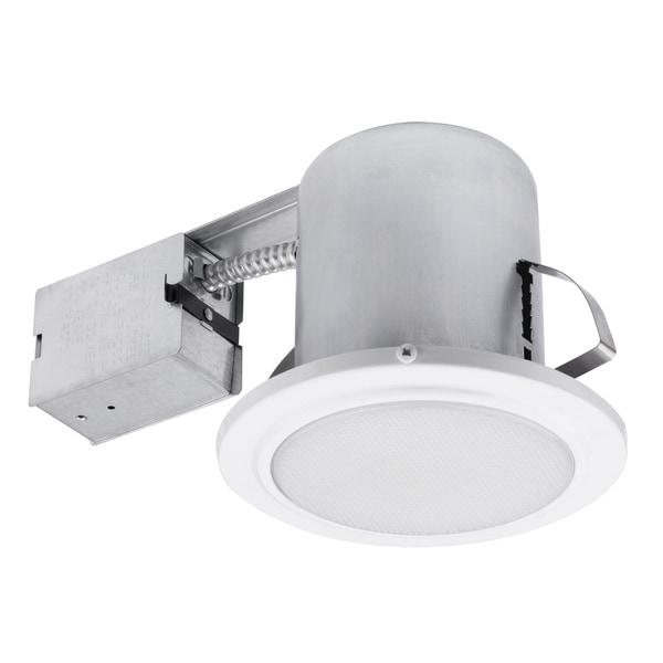 "Bathroom Recessed Lighting Kit: Shop 5"" White Damp Rated Shower Recessed Lighting Kit"