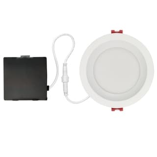 Link to 4 in. White Ultra Slim Baffle Integrated LED Recessed Lighting Kit Similar Items in Recessed Lights