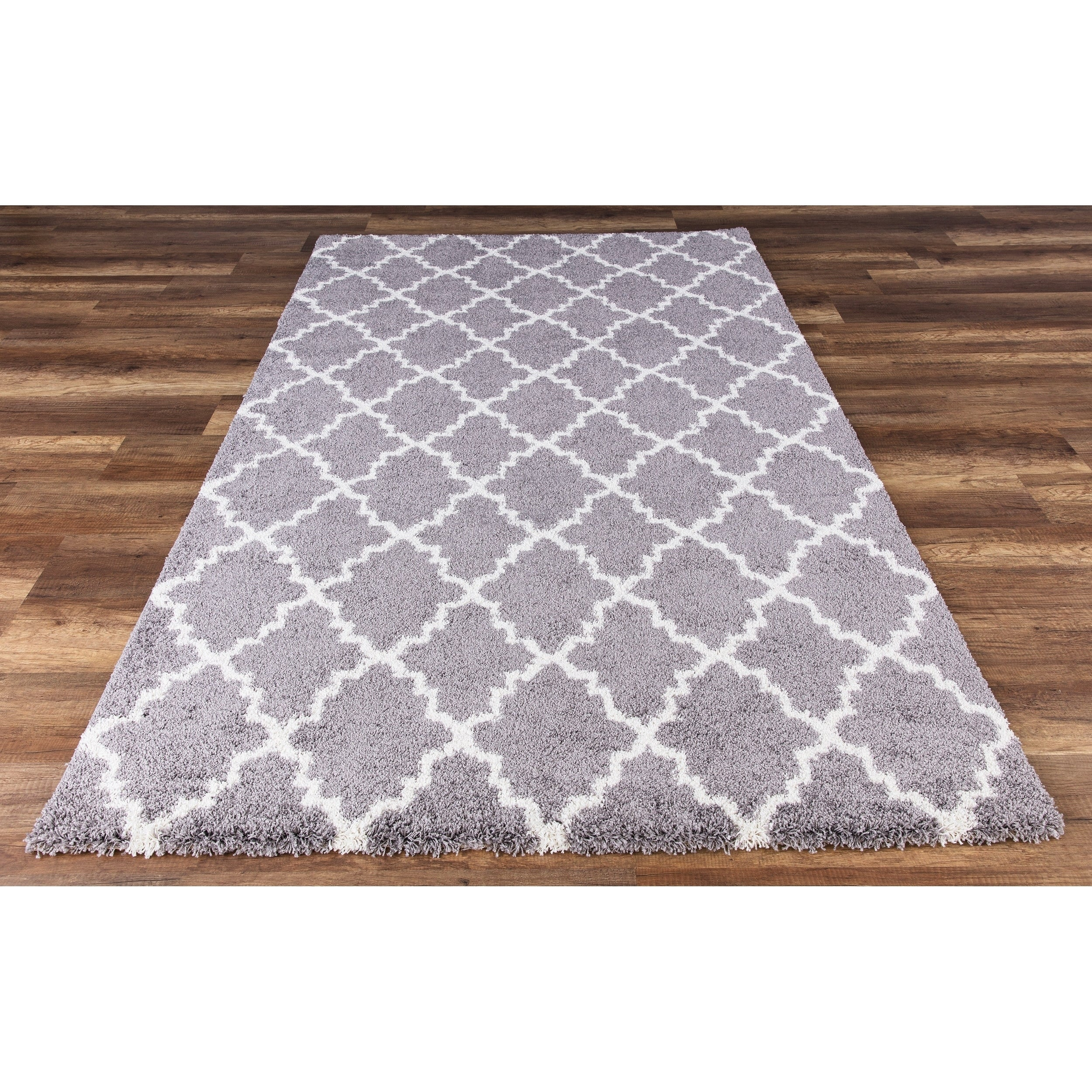 Soft Cozy Plush Gy Area Rug