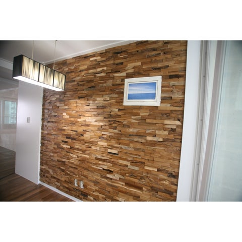 Reclaimed Exotic Teak Panel Collection