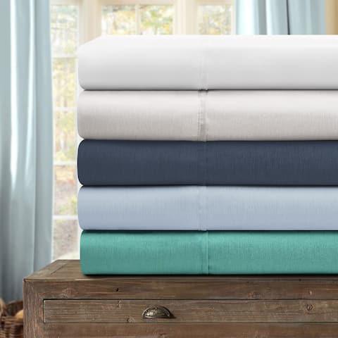 Miranda Haus Pearla Rayon from Bamboo Blend Solid Sheet Set