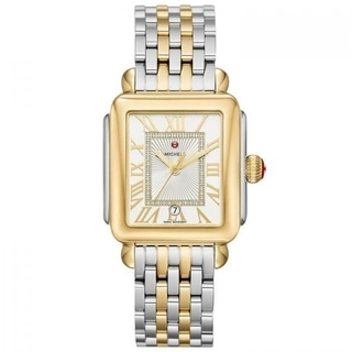 Michele Lexi Diamond Two-Tone Stainless Steel Watch
