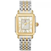 Michele Lexi Diamond Two-Tone Stainless Steel Watch - N/A