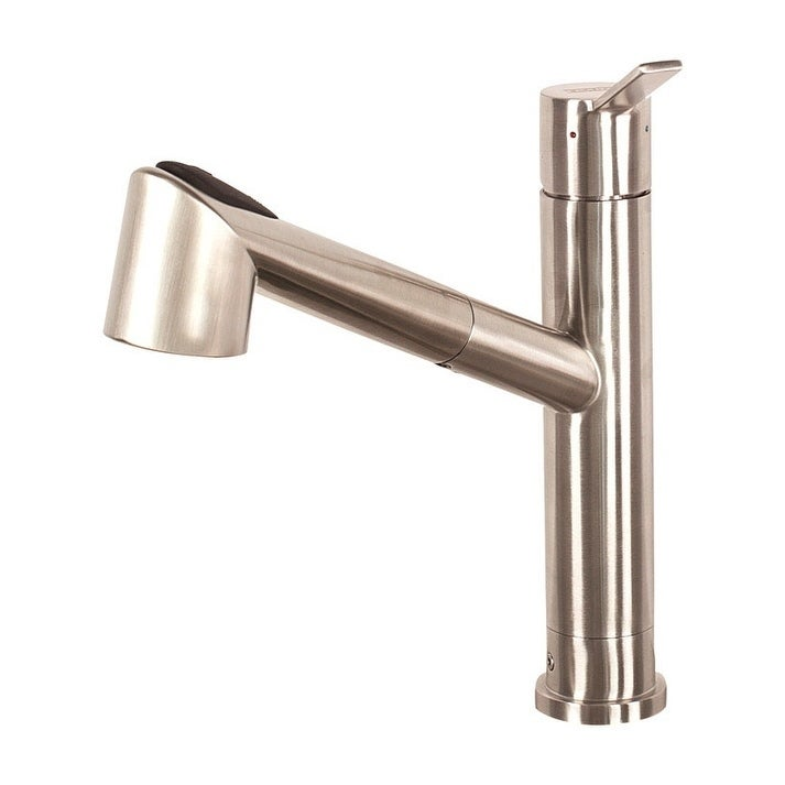 Franke Bernard Pull Out One Handle Stainless Steel Kitchen Faucet
