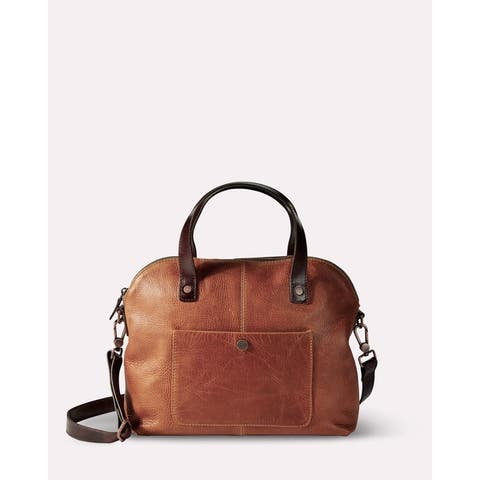 Pendleton Leather Handbag