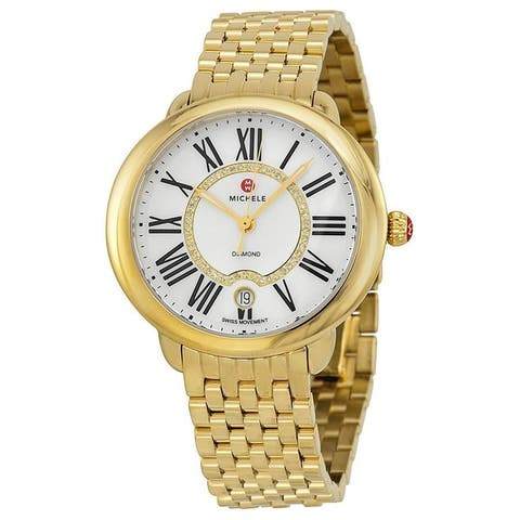 Michele Maxmilli Gold Watch