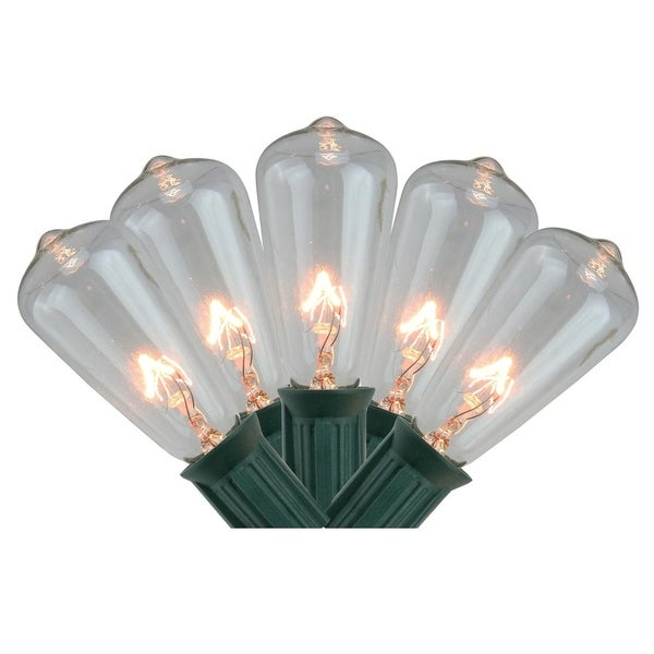 Shop Set Of 20 Transparent Clear Mini Edison Style Summer