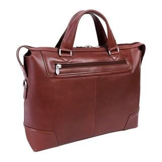 "McKleinUSA Arcadia 17"" Leather Slim Laptop Briefcase"