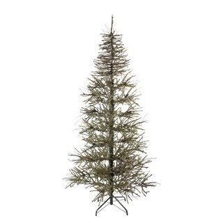 6' Slim Warsaw Twig Artificial Christmas Tree - Unlit - N/A