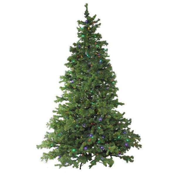 Lead Free Christmas Trees: Shop 7.5' Layered Pine Instant Power Technology Single