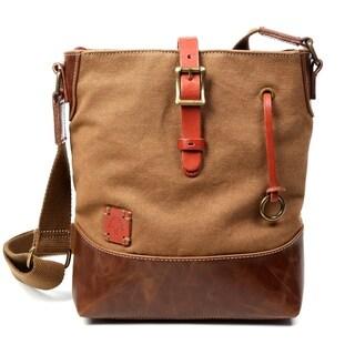 Redwood Canvas Crossbody Bag