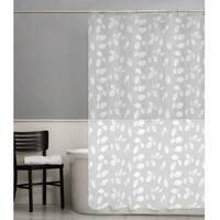 Maytex Just Leaves PEVA Shower Curtain