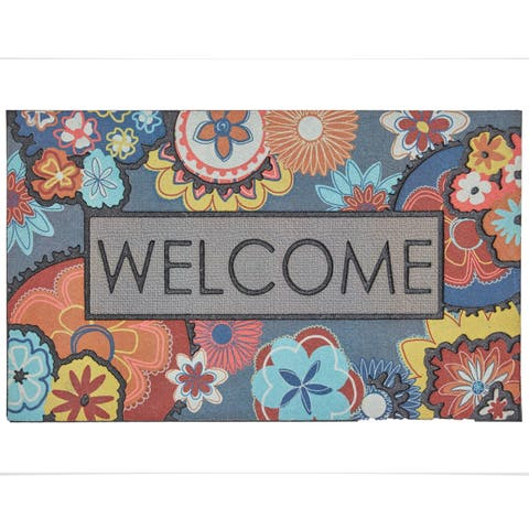 Mohawk Home Doorscapes Ethereal Welcome Door Mat (1'6 x 2'6)