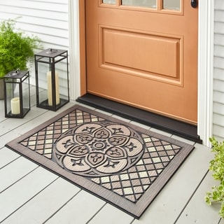 Mohawk Home Doorscapes Estate Venetian Walk Medallion Door Mat (1'11 x 2'11)